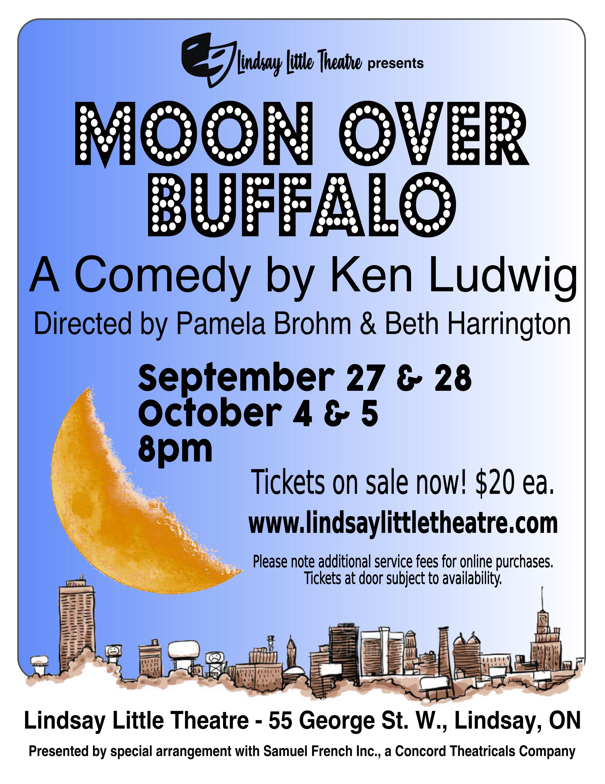 Moon Over Buffalo LLT 2019 Poster